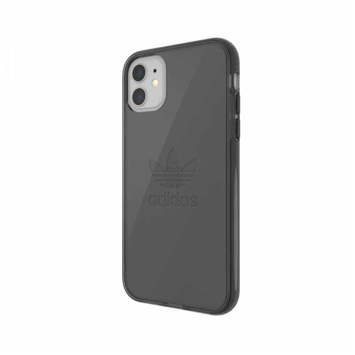 ADIDAS Backcover Protective Clear (iPhone 11, Nero)