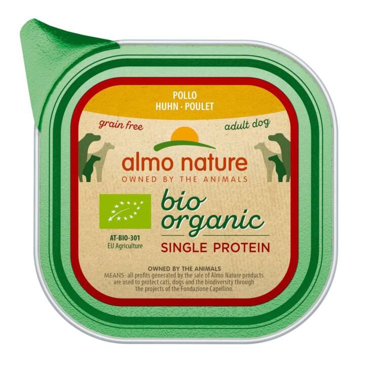 ALMO NATURE Bio Single Alimentation humide (150 g, Adulte)