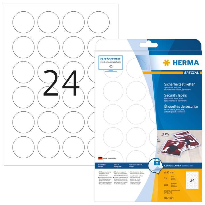 HERMA Etichette (A4, 40 mm, 25 foglio)