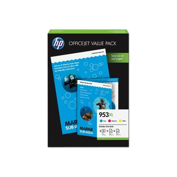 HP 953XL Officejet Pack économique