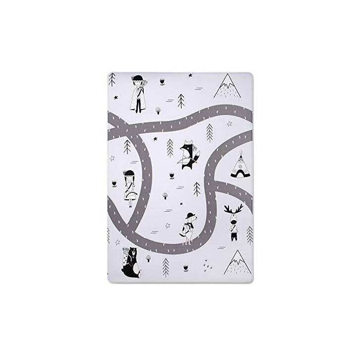 HAKUNA MATTE Tappeto da gioco Little Explorer (Via, Foresta, 200 x 140 cm)