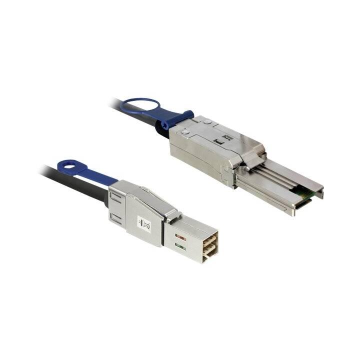 DELOCK Netzwerkkabel (SFF-8088, 26-polig, 2 m)