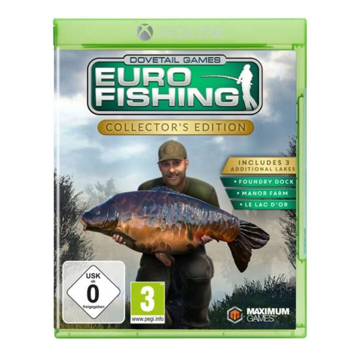 Euro Fishing - Edition Collector (DE/FR/IT)