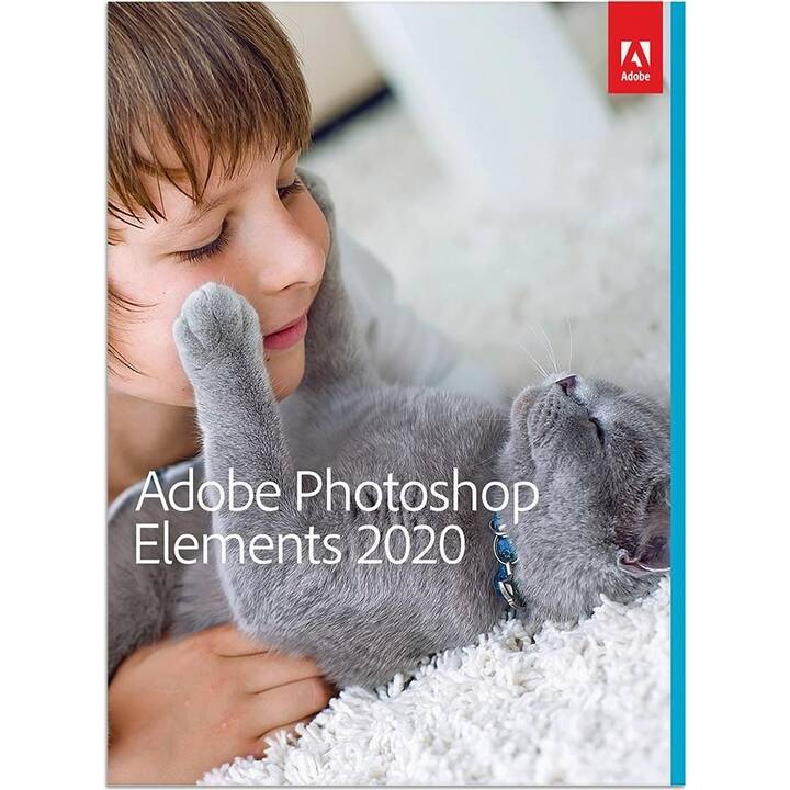 ADOBE Photoshop Elements 2020 (Version complète, Italien)