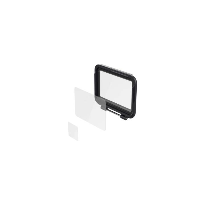 GOPRO Screen Protectors (Transparent, Schwarz)