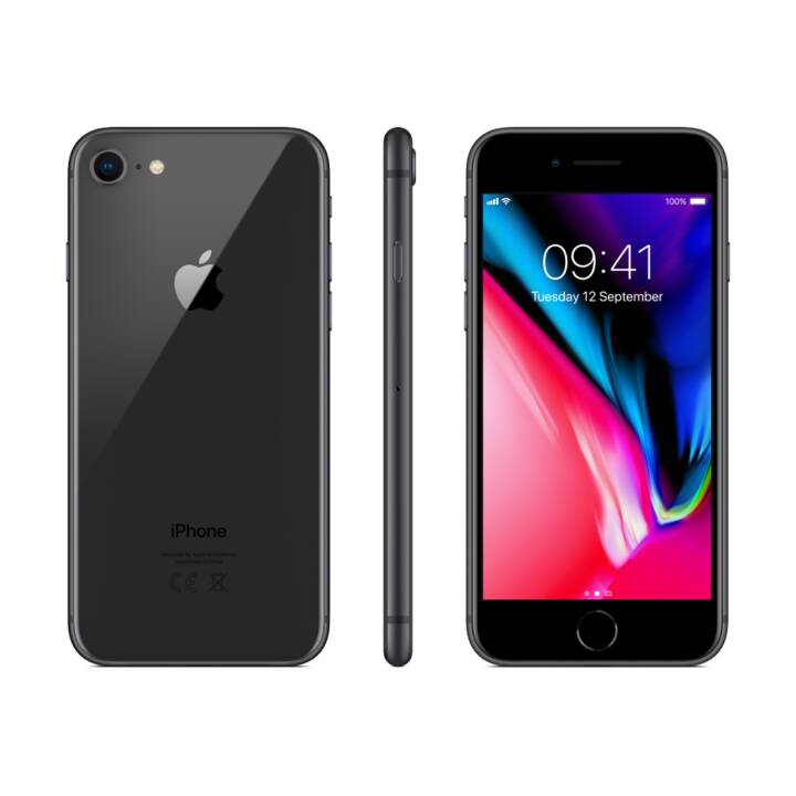 "APPLE iPhone 8 (4.7"", 64 GB, 12 MP, Gris sidéral)"