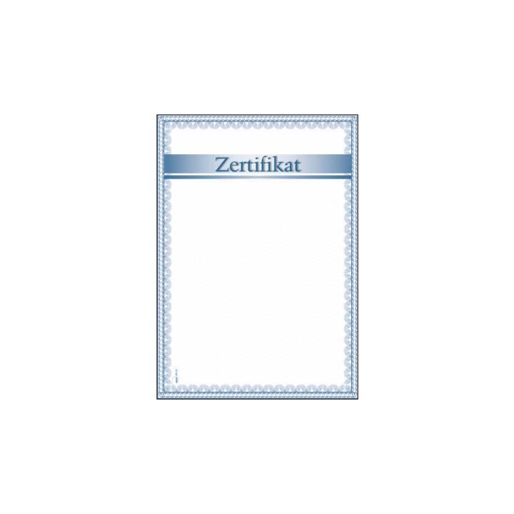 Certificato SIGEL Design Paper Certificate, 12 fogli, A4, 185 g/m².
