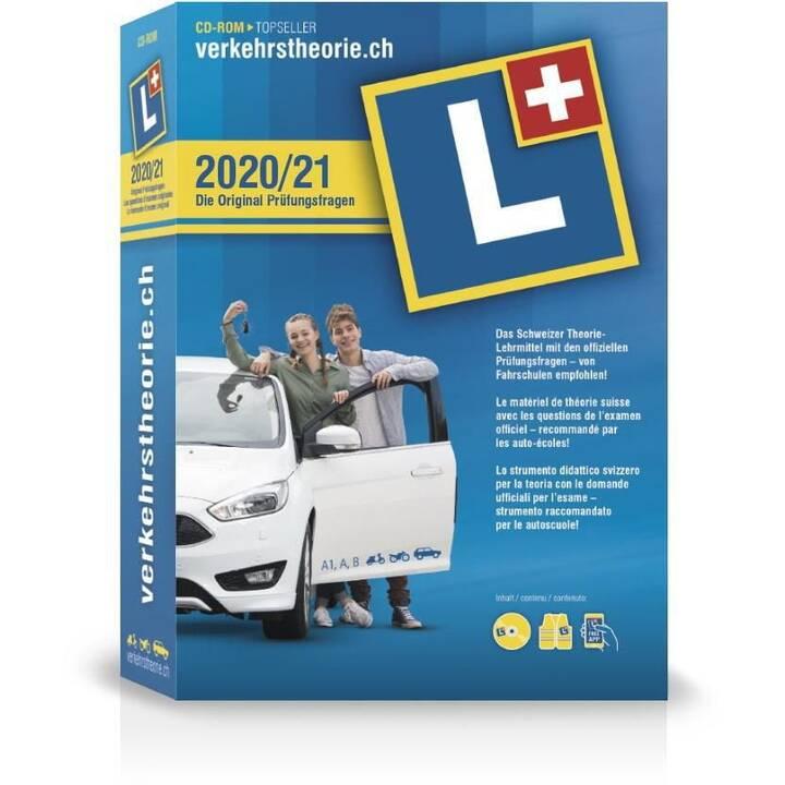VERKEHRSTHEORIE.CH Kat. A+B 2020/21 CD (Version complète, Allemand, Français, Italien)