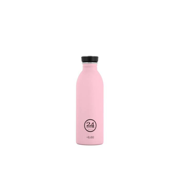 24BOTTLES Bouteille Urban Candy Pink (Rose, 1 l)