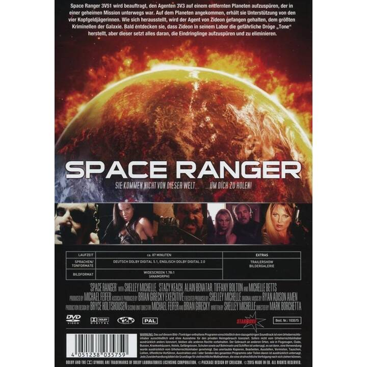 Space Ranger - DVD (DE, EN)