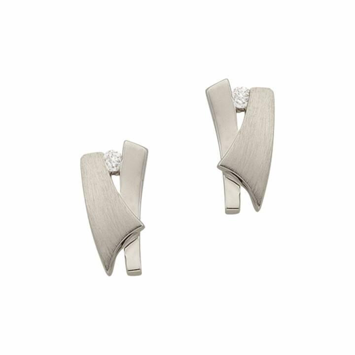 MUAU Clous d'oreilles (Diamant, 10 mm)