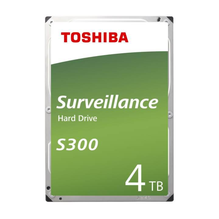 TOSHIBA S300 Surveillance (SATA-III, 4 TB)