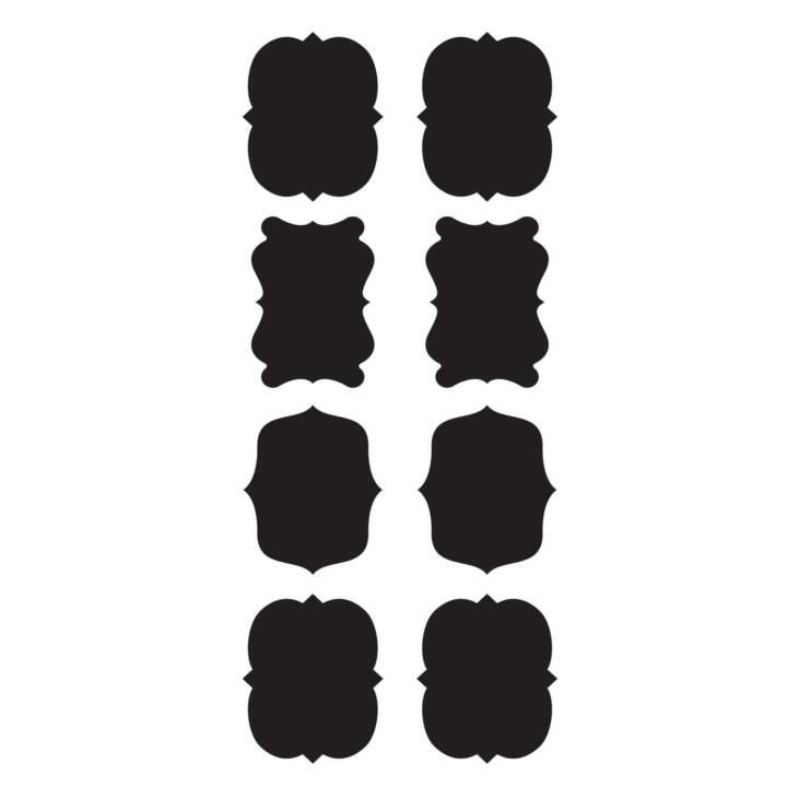 CREARREDA Small Labels Wandtattoo (15 x 30 cm)