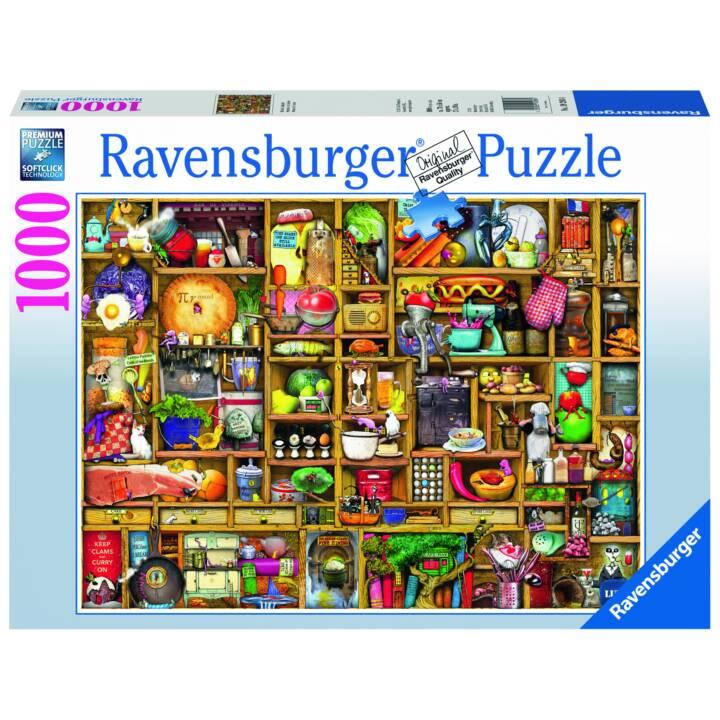 RAVENSBURGER Kurioses Küchenregal Puzzle