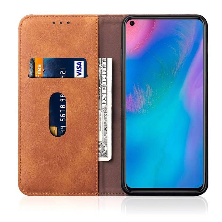 EG Mornrise Wallet Case für Huawei Honor 20 Lite - Hellbraun