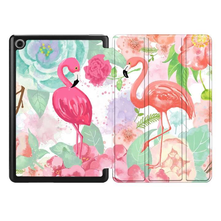 "EG MTT Coque pour HUAWEI MediaPad T3 10 9.6"" 2017 - flamingo"