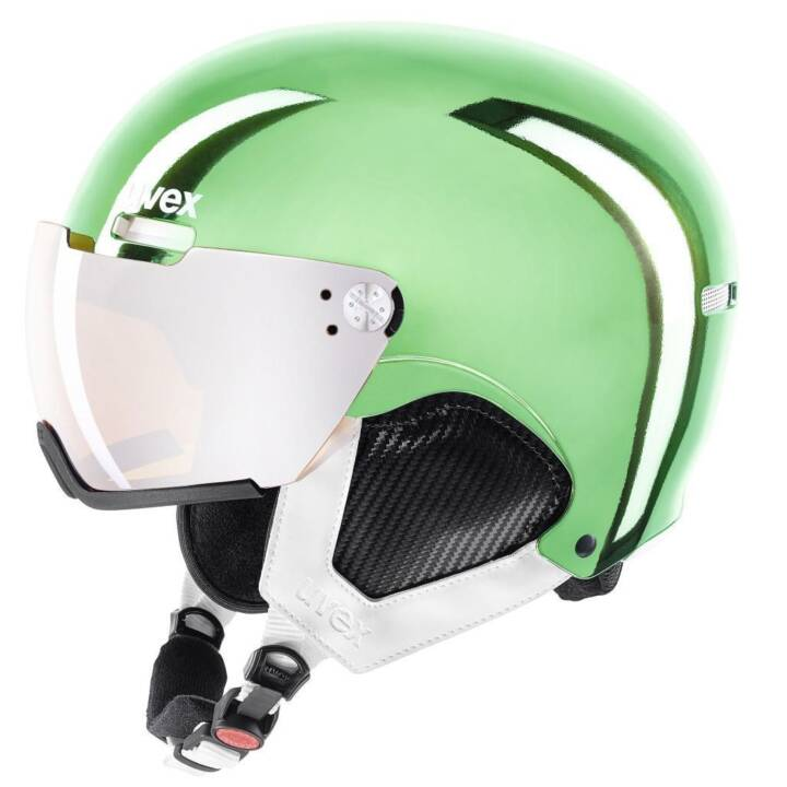 Visiera UVEX casco hlmt 500 visiera cromata LTD