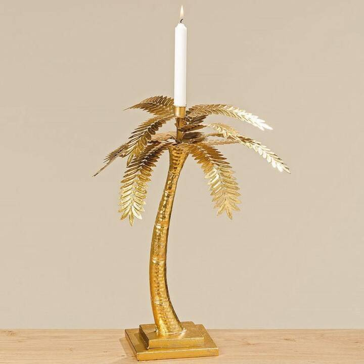 BOLTZE Palm tree Candeliere (Oro, 480 mm)