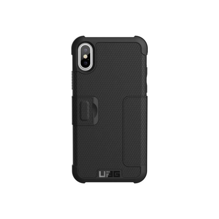 UAG Flipcover Metropolis Case Black für Apple iPhone X