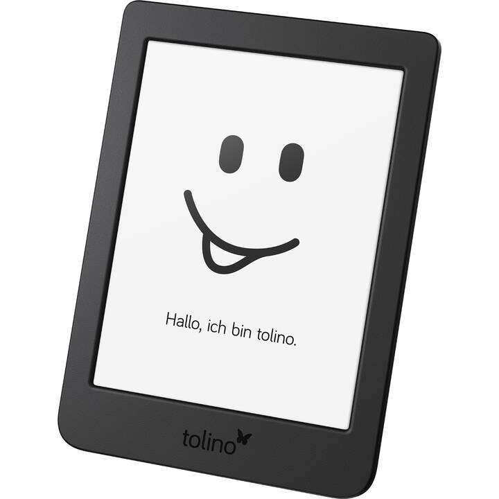 """TOLINO Page 2 (6"""", Schwarz, WLAN 802.11g, WLAN 802.11n, WLAN 802.11b, 8 GB, Family Sharing)"""