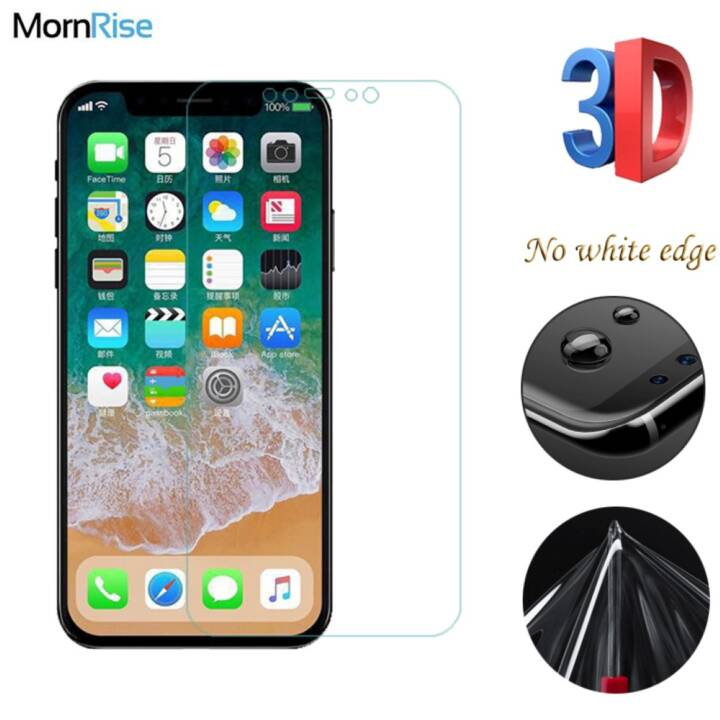 EG 3D Nano film morbido antideflagrante per iPhone X - 2 pezzi