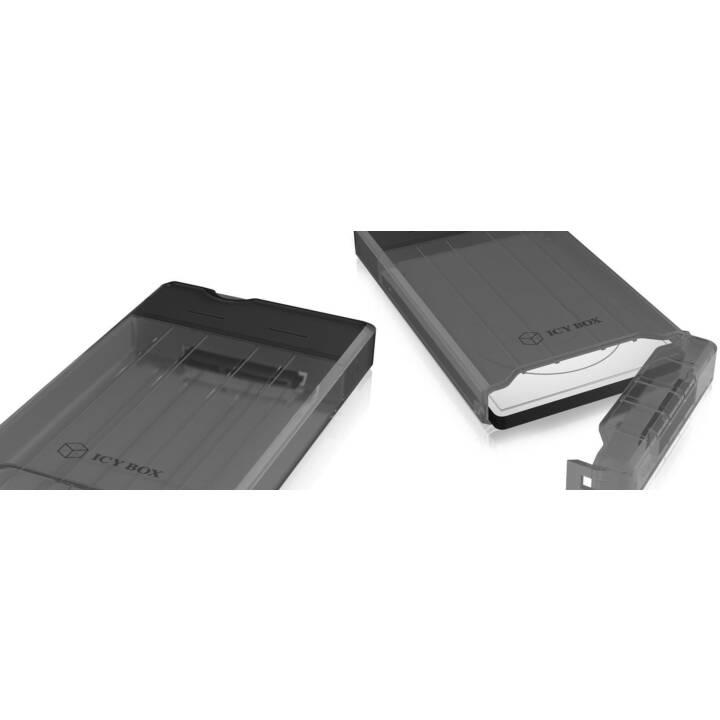 ICY BOX IB-235-U3 HDD / SSD-Gehäuse 2.5Zoll Schwarz