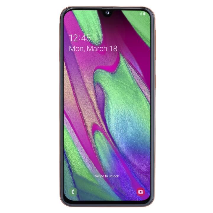 """SAMSUNG Galaxy A40 (64.0 GB, 5.9 """", 16.0 MP, Coral)"""