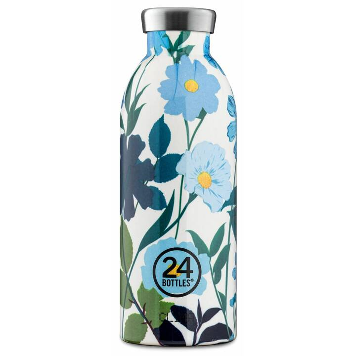 24BOTTLES Bottiglia sottovuoto Clima (0.5 l, Verde, Giallo, Bianco, Blu chiaro, Blu scuro)