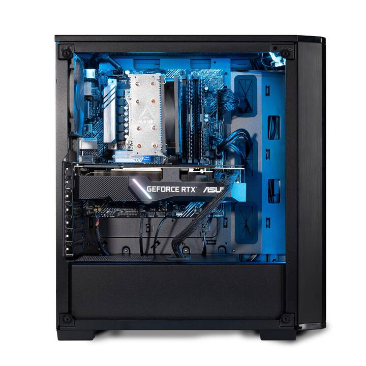 JOULE FORCE Nuke RTX2070S II7 (Intel Core i7 10700F, 16 GB, 1 TB SSD, 1 To HDD)