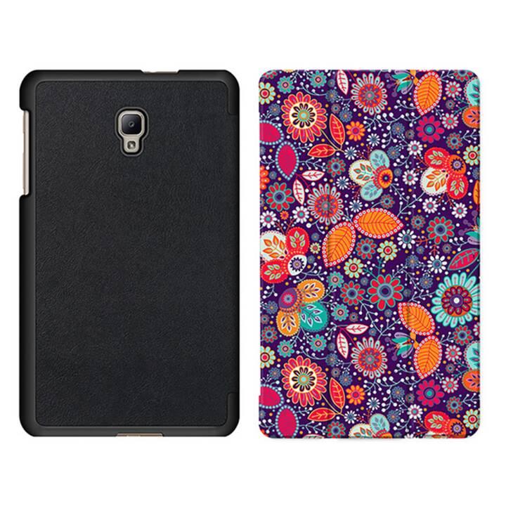 """EG MTT Sacoche pour tablette avec housse Smart pliable pour Samsung Galaxy Tab A 8"""" (2017) - Ethnique"""