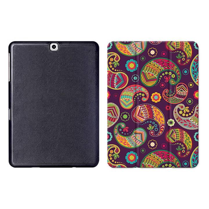 """EG MTT Sacoche pour tablette avec housse pliable Smart pour Samsung Galaxy Tab S2 9.7"""" MTT - Ethnic"""
