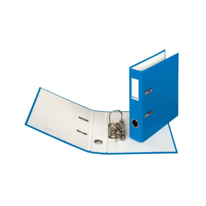 BIELLA plieuse 4cm A5 bleu