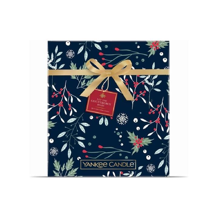 YANKEE CANDLE Duftkerzen-Adventskalender Countdown to Christmas