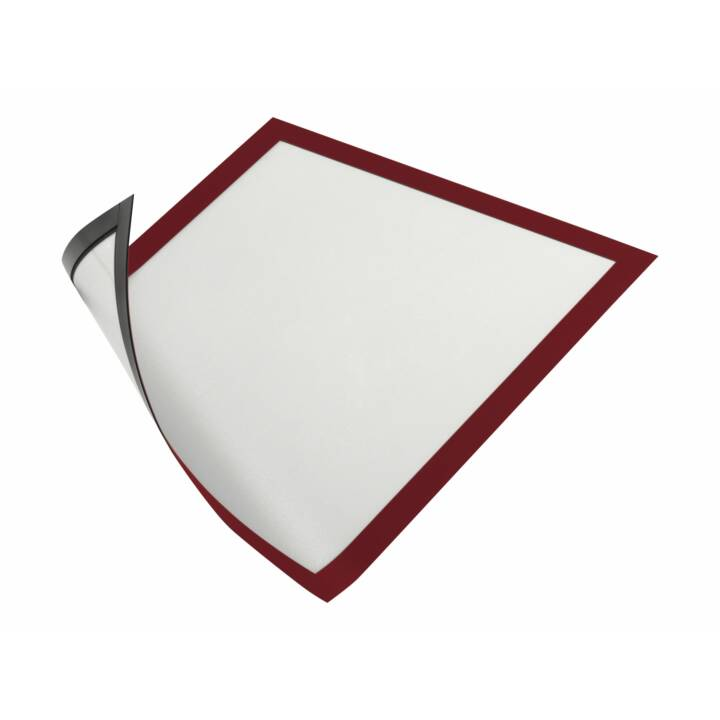 DURABLE Magnetrahmen A4 rot 5 Stück
