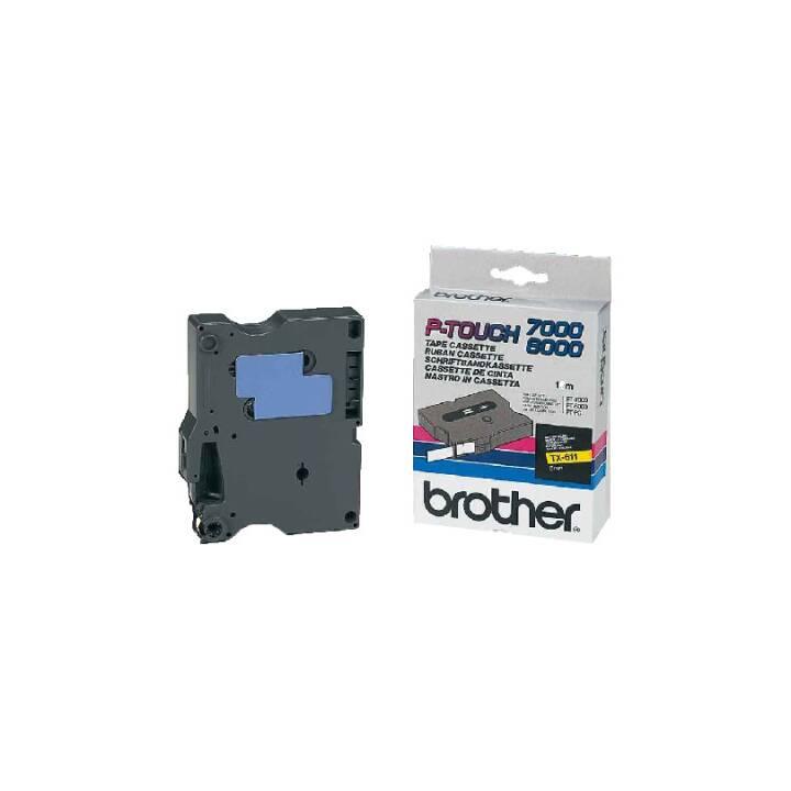 Nastro laminato BROTHER TX611