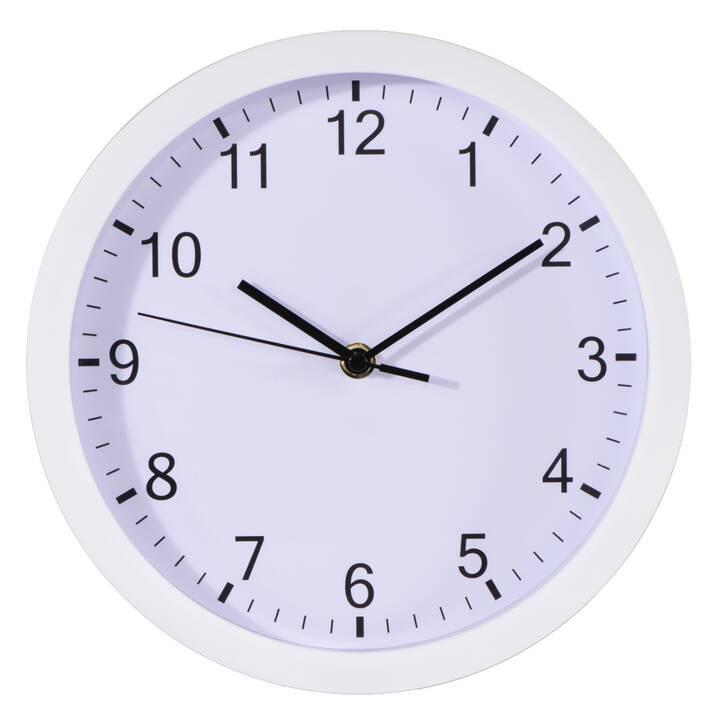HAMA Pure Orologio da parete analogico (25 cm, Bianco)