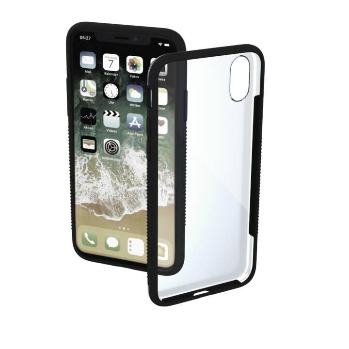 HAMA iPhone XI Couvercle, Noir, Transparent