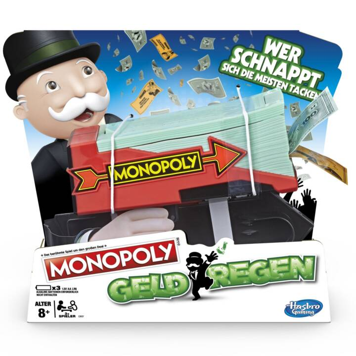 HASBRO Monopoly Cash Grab Strategiespiel