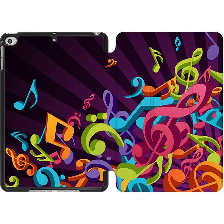 EG MTT Coque pour iPad Mini 4 (2015) et Mini 5 (2019) - élément musical