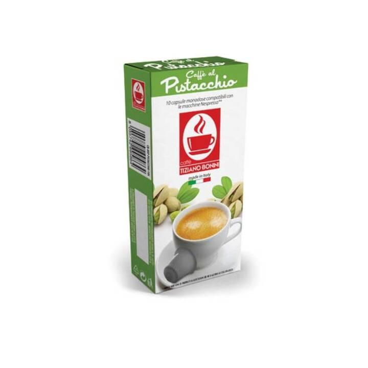 TIZIANO BONINI Kaffeekapseln Espresso Pistacchio (10 Stück)