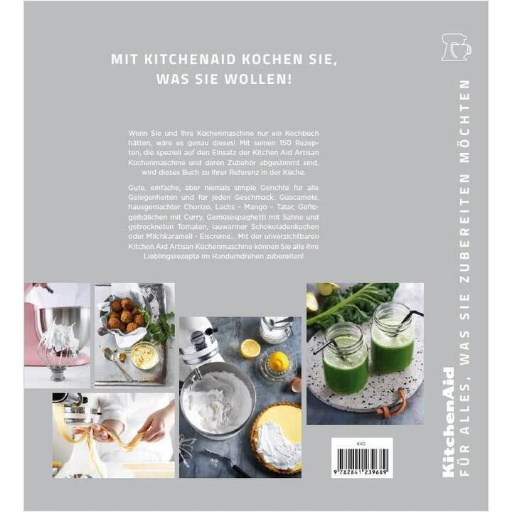 KITCHENAID Artisan KSM200 Swiss Edition, Eisenschwarz