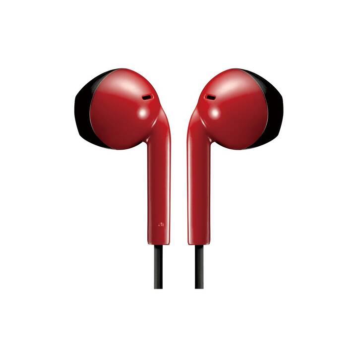 JVC IPX2 (In-Ear, Rot)