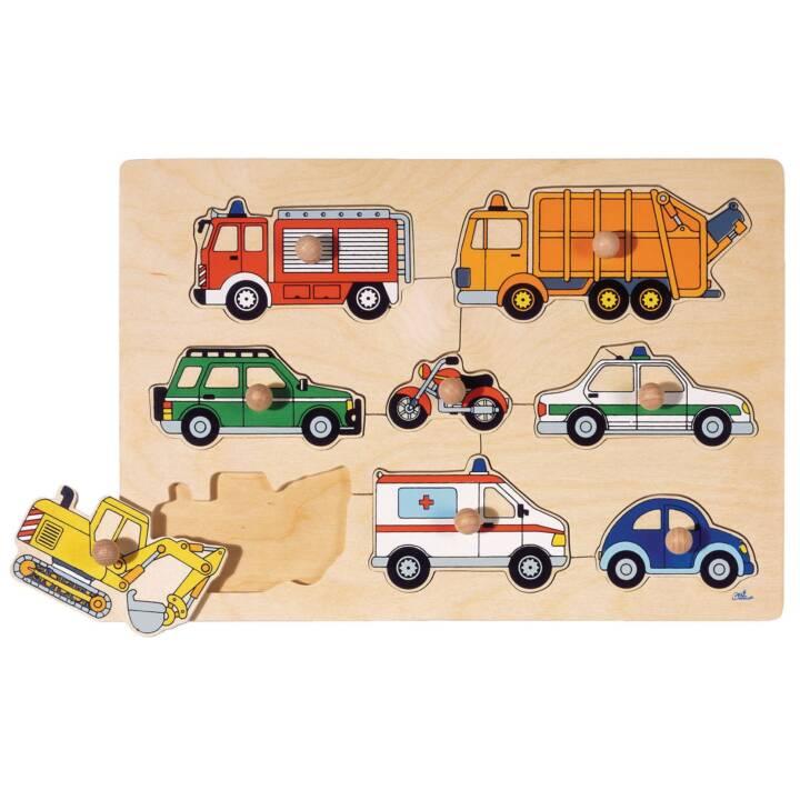 Puzzle sur les moyens de transport GOKI