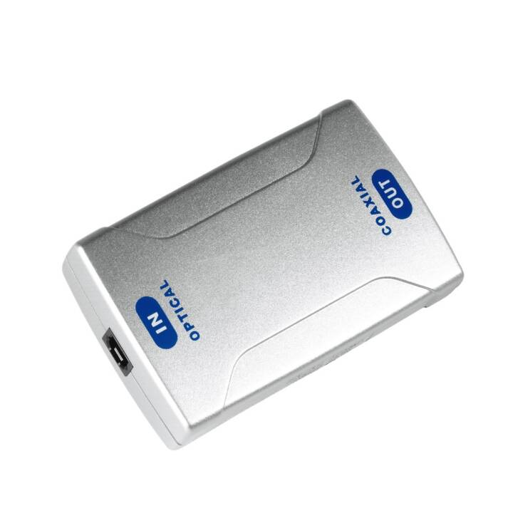 HAMA ProClass Digital-Konverter, Silber