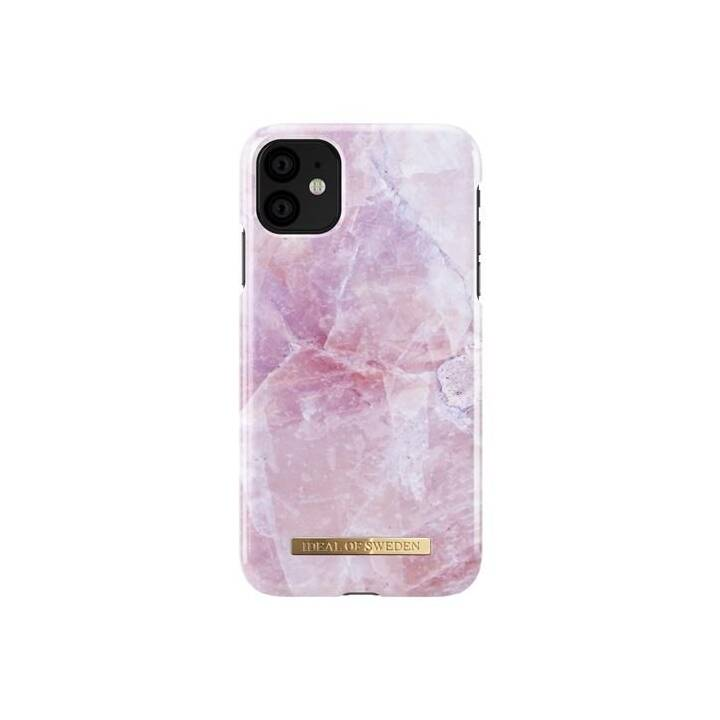 IDEAL OF SWEDEN Backcover Pilion Pink Marble (iPhone 11, Pink)