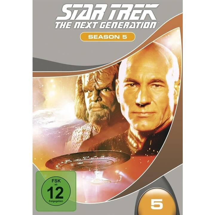 Star Trek - The Next Generation Staffel 5 (ES, IT, DE, EN, FR)