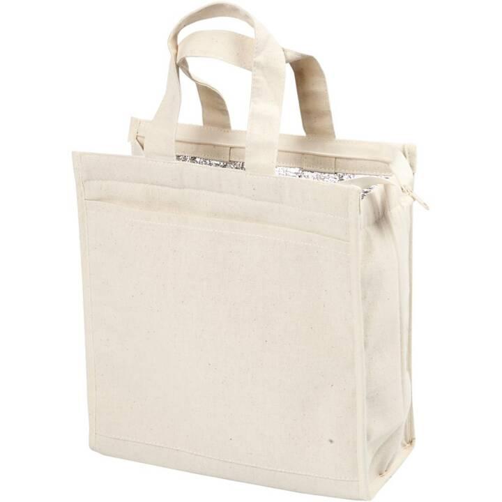 CREATIV Kühltasche mit Reissverschluss, 25 x 24 x 12 cm