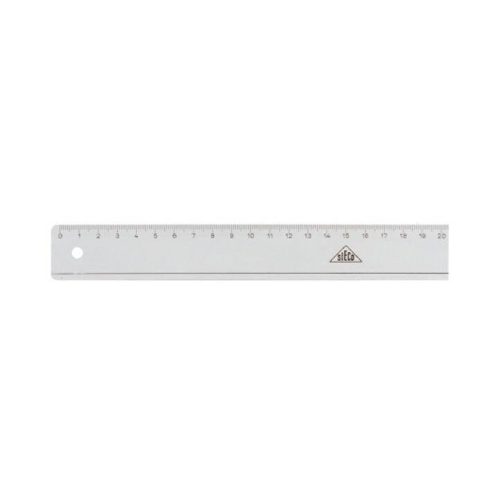SIECO Flachlineal, 30 cm