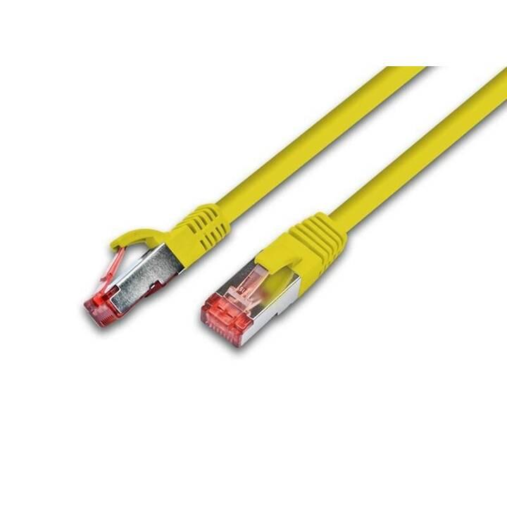 Wirewin Patch-Kabel - 5 m - Gelb
