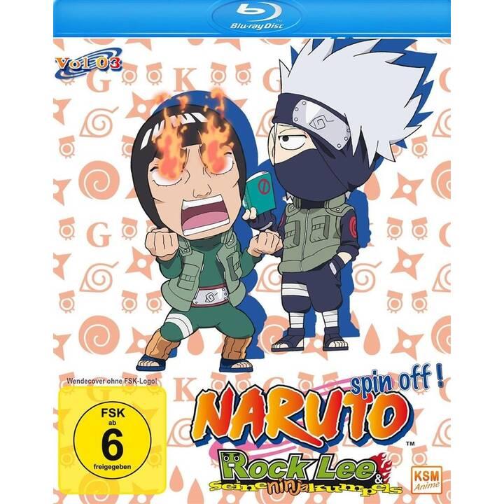 Naruto Spin-Off! - Rock Lee und seine Ninja Kumpels - Volume 3: Episode 27-39 (JA, DE)